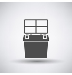 Fishing Box Icon vector