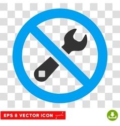 Forbidden Repair Eps Icon vector