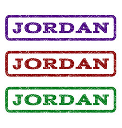 Jordan watermark stamp vector