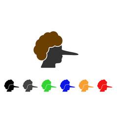 Lier icon vector