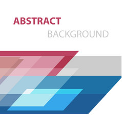 abstract background with geometric overlapping vector image vector image
