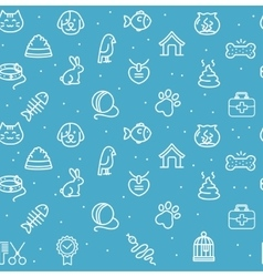 Pet Seamless Pattern vector image