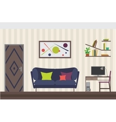 Furniture Set Flat for you vector image vector image