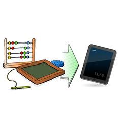 technology genesis vector image vector image