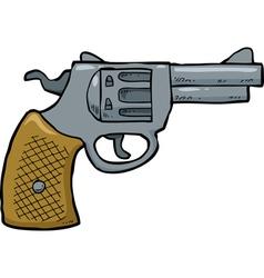 revolver vector image vector image