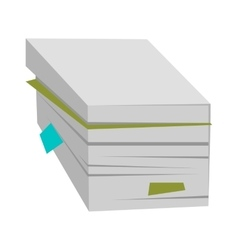 Stack of Documents vector image