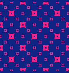 colorful pink and navy blue geometric seamless vector image