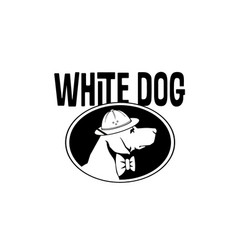dog-logo vector image