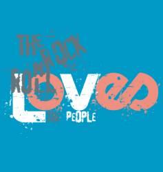 Graffiti love vector