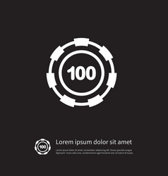 isolated disk icon stack element can be vector image