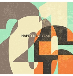 New year card 2016 vector