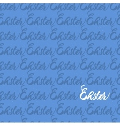 seamless pattern repeating word easter vector image