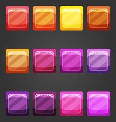 Shiny button 1 vector