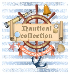 Nautical Collection 2 vector image