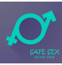 Symbol of masculinity and femininity vector