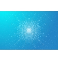 Geometric background molecule and communication vector