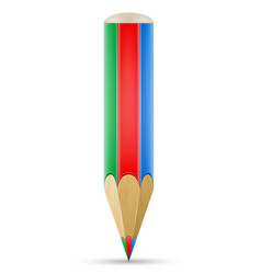 art creative pencil concept vector image