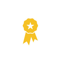 award badge icon design template vector image