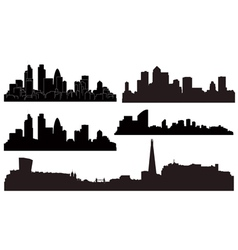 city london vector image