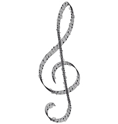 clef vector image