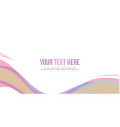 Collection abstract header website design vector