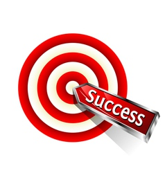 Concept success vector image