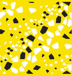 geometrical particles seamless pattern vector image