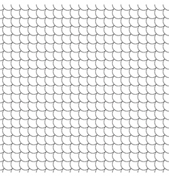 seamless pattern diagonal fish scales vector image