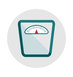 sports equipment scales vector image