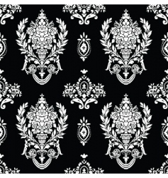 roman vase pattern vector image vector image
