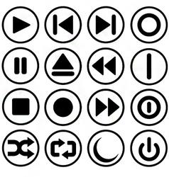 media control vector image