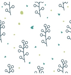 Seamless floral pattern Love vector image vector image