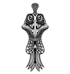 Zentangle stylized Cock vector image