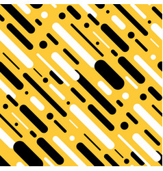 Abstract geometric line seamless pattern vector