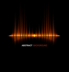Abstract music wave background vector