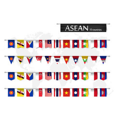 Asean association southeast asian nations vector
