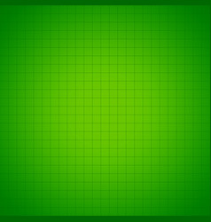 Green grid or mesh background vector