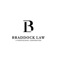 Initial letter logo b and l bl lb monogram logo vector