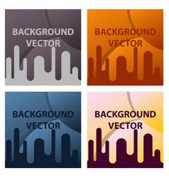minimal geometric background dynamic shapes vector image