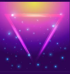 neon futured background vector image