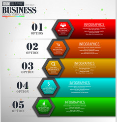 timeline infographic data visualization design tem vector image