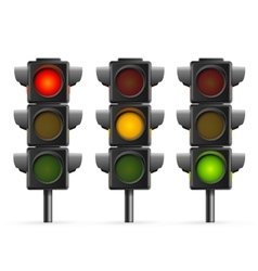 Traffic Light Sequence vector image