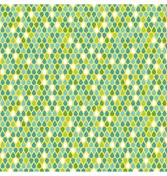 Multicolor raindrops seamless pattern vector image