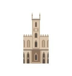 Saint joseph church as a national canadian culture vector