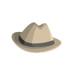 Clasy Hat With Brims vector image vector image