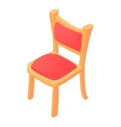 Chair icon cartoon style vector image