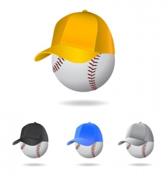 baseball mascot vector image