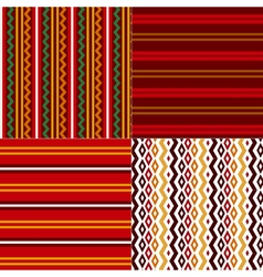 Folk style Bulgarian simple traditional seamless vector