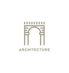 Gate logo symbol design inspiration vector