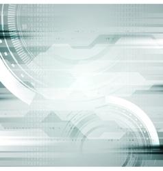 Hi-tech abstract background vector